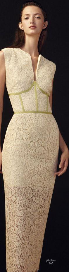 Sophia Kah S/S 2015 women fashion outfit clothing style apparel @roressclothes closet ideas