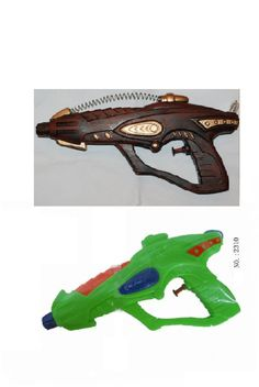 Steampunk Gun Before and After