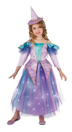 fun shack Girls Halloween Costumes Kids Cute Cat /& Scary Witch Childrens Outfits