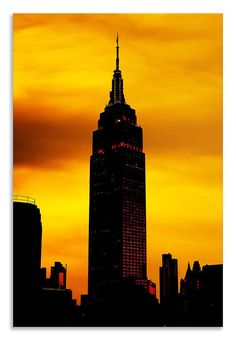 Another new creation ready to hang    http://thousandface.myshopify.com/products/empire-state-building-canvas-abstract-portrait-wall-art-picture-home-decor?utm_campaign=social_autopilot&utm_source=pin&utm_medium=pin