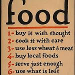 Vintage US Food Administration War Poster