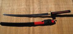 Ronin Katana Dotanuki Phoenix samurai sword - Phoenix tsuba with 1045 steel blade. Years made 2010 - 2011