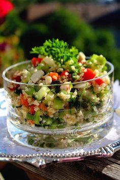 Cooking with Zoki: Bulgur ( kuskus ) salata
