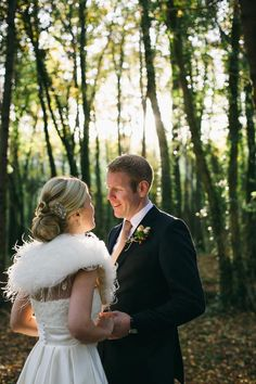beautiful Autumn wedding portrait - Read more on One Fab Day: http://onefabday.com/autumn-wedding-by-poppies-and-me/