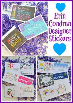 How do you use your inspirational quote stickers & complimentary gift labels? #eclifeplanner #fabfans