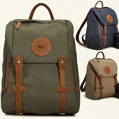 Vintage-Men-Women-DSLR-SLR-Waterproof-Canvas-Camera-Backpack-Rucksack-Bag-Padded