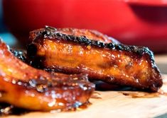 Grill - Playlist - FoodTV Spare Ribs, Grilling, Bacon, Pork, Meat, Tv, Breakfast, Kale Stir Fry, Morning Coffee