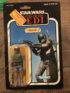 1978 Vintage Star Wars 12 Back Figure Vinyl Case Insert Poster Repro R2D2 Fett