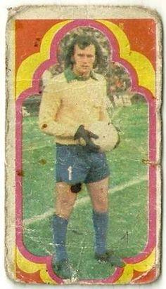 figurita futbol jugadores año 1975 sanchez - boca juniors