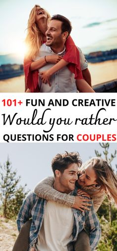 101 would you rather questions for couples that range from fun to hilarious to sexy to relationship love conversation starters. These topics include marriage, boyfriends. Have fun with these on your next date night with these awesome ice breakers! Conversation Starters   Questions for Couples   Date Night   first date questions conversation starters   dating questions   fun couple conversation starters   relationship conversation starters #wouldyouratherquestions #datenight #marriage