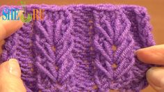 Wheat Ear Loop Stitch Pattern Tutorial 6 Free Knitting Stitch Patterns For Beginners  http://sheruknitting.com/knitting-stitch/knitting-stitch-patterns/item/558-knitting-loop-stitch-pattern.html  With this video tutorial you will learn how to knit the wheat ear loop stitch pattern. This beautiful wheat ear loop stitch pattern made of long loops that can be seen only on the right side of a fabric. Ears of wheat are made in a plain reverse stoching stitch background. Happy knitting!