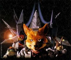 """First Track of Orchestral Game Concert an arrangement titled """"Theme of Star Fox"""", from the music of Star Fox. Performed by Tokyo City Philharmonic Orchest. Star Fox, Art Archive, Wedding Music, Video Game Art, Looking Back, Orchestra, Puppets, Christmas Ornaments, Stars"""
