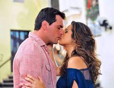 Relembre os melhores beijos das novelas Home Fotos Theo (Rodrigo Lombardi) e Morena (Nanda Costa). O casal foi protagonista e par romântico da novela Salve Jorge em 2012.