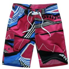 2017 new arrivals summer men board shorts casual quick dry beach shorts M-6XL AYG215