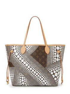 White Kusama Neverfull MM