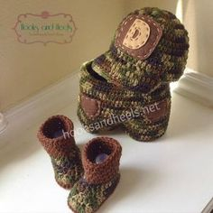 Adorable!! Boy Camouflage Set pattern (size: 6-12 months). FREE patterns!!