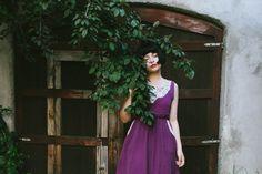 Imagen de dress, girl, and nature