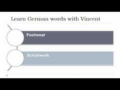 ▶ Learn German = Vocabulary - YouTube