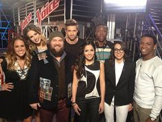 #TeamUsher before their Knockouts! #VoiceUnlimited