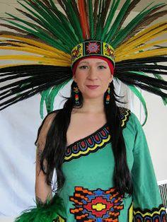 Aztec Costumes | Laurie's Costumes: 2011 Costume: Aztec Dancer