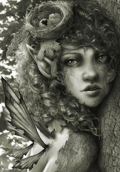 forest nymph by =RomanticFae on deviantART