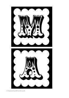 Magic Maths Instant Display Title - Circus Font