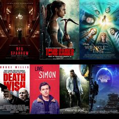Hold the Gluten Please: March 2018 movies