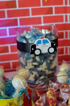 police birthday party ideas