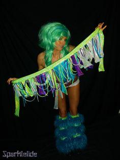 Siren Rave Costume. $205.00, via Etsy.