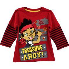 "Disney Jake the Pirate ""Treasure Ahoy"" Red Toddler Long Sleeve Layered T-Shirt (3T) Disney http://www.amazon.com/dp/B00GM1PFL0/ref=cm_sw_r_pi_dp_xF.Qub058EGB6"