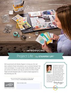 Project Life by SU! - #projectlife, #plxsu, #stampinup, #diy, #scrapbooking