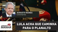 Lula acha que caminha para o Planalto, mas está mesmo é indo para Curiti...