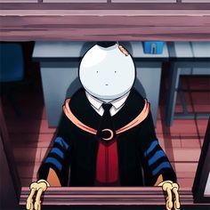 Korosensei's grown up face lol.