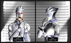 Liara T'Soni HD Wallpaper