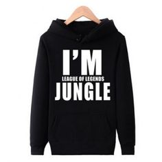 League of Legends hoodie pullover style I am League of Legends Jungle