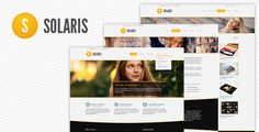 Solaris PSD Web Theme by wssb Solaris Joomla template is launched Solaris Drupal 7 theme version 1.0 ready! Solaris is modern Premium PSD Web template with professional and lite design. It is well for blogging, portfolio and corporate or personal web site desi