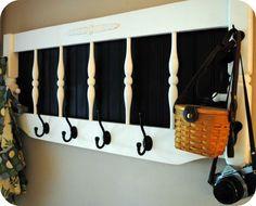 DIY Headboard To Coat Rack DIY Furniture