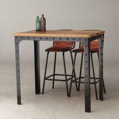 Image result for industrial furniture rivet