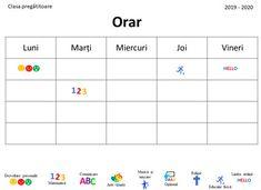 Editable Timetable in Romanian, Timetable with Images by Ema La Scoala Dinosaur Classroom, Classroom Rules, Superhero Alphabet, Visual Timetable, Kids Calendar, Presentation, Teaching, Image, Pray