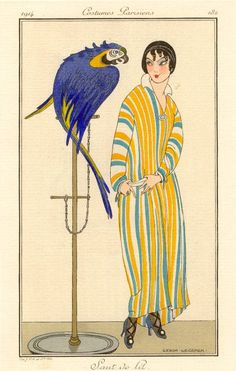 * Journal des Dames et des Modes 1914 - Gerda Wegener (1886 - 1940)
