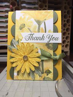 (38) Facebook Daisy Delight Stampin' Up, Scrapbook Cards, Scrapbooking, Thank U Cards, Beautiful Handmade Cards, Stamping Up Cards, Hindus, Pretty Cards, Color Card