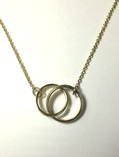 Made This Necklace For A Widow With Her Late Husband S Wedding Bands