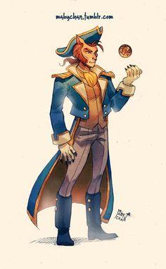 Genderbent Captain Amelia