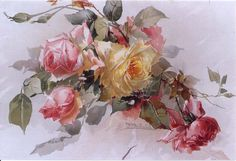 FRANZ AULICH--roses