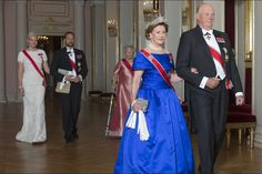 The Norwegian Royal family hosted the annual Gala Dinner for members of the Parliament at the Royal PAlace of Oslo. | 22nd October 2015