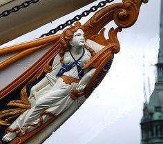 Носовые фигуры старинных кораблей