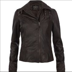 All Saints Belvedere Leather Jacket