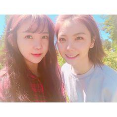 Raina and Kaeun - After School Kpop Girl Groups, Kpop Girls, Call Orange, Orange Caramel, After School, Youtube, Korean Idols, Instagram, California