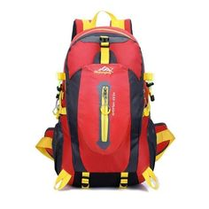cfa397e10b3e 40L Waterproof Men Women Travel Backpack Camping Climbing Hiking