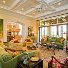 Green Sofa Design Ideas, Pictures, Remodel, and Decor - page 33